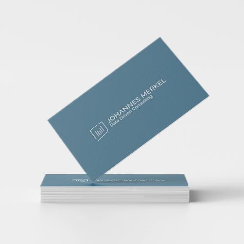 Beispiel Logo Berater Visitenkarte