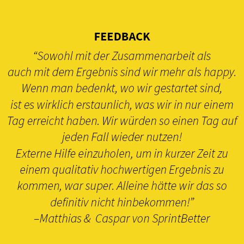 Feedback Sprintbetter