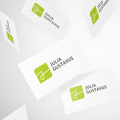 Logo Beispiel Coach Visitenkarte
