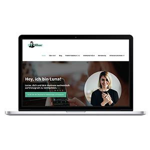 Luna-Dickmann-Webdesign