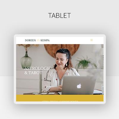 Webdesign-Beispiel-Mobile-Astronomin