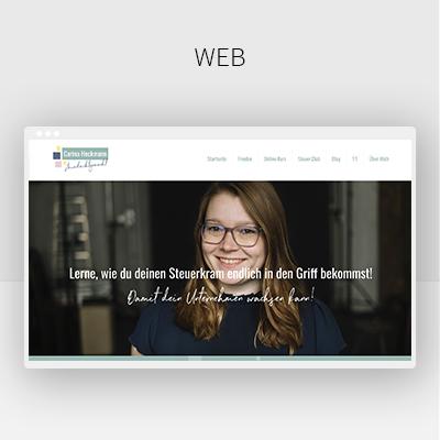 Webdesign-Beispiel-Website-Steuerberaterin